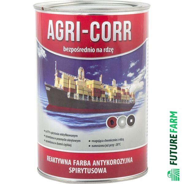 Farba Agri-Corr (Corr-Active) podkładowa szara 1 l NA RDZĘ