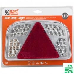 Lampa tylna przyczepy LED,...