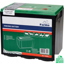 Bateria sucha, 9V 120Ah