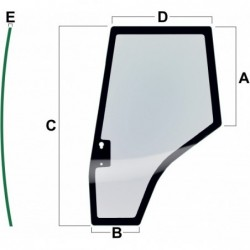 VPM7447 Szyba drzwi Vapormatic